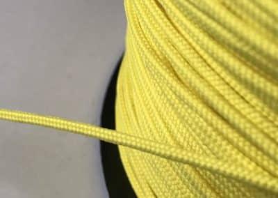 4.1. Кръгъл шнур електриково жълто за подаръчни торбички и др.