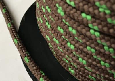 9. Кръгло въже зелено-кафяво